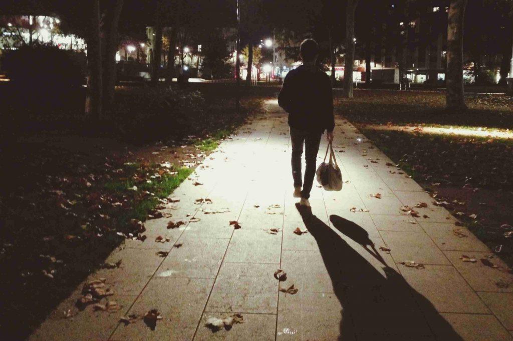 Вучето не я е страх да се прибира вечер сама… ама в Дания