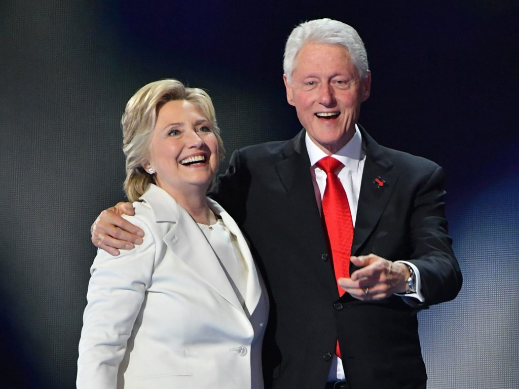 The Clintons: American Success Story